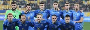 Молодежная сборная Украины в двойном меньшинстве сыграла вничью с Азербайджаном