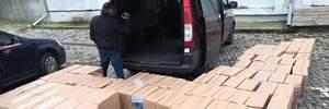 СБУ затримала контрабанду сигарет на 6 мільйонів гривень: фото