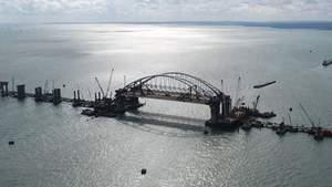 На Кримському мості виникла нова серйозна проблема: у мережі показали фото