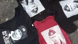 В Виннице продают футболки с изображением Путина: фото