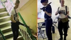 Массовое убийство в Керчи: появилось полное видео действий стрелка