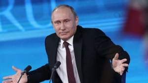 В России активисты вывесили огромный баннер против Путина: фото