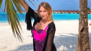 Зарплати українця вистачить на 16 секунд, – Леся Нікітюк похизувалася відпочинком на Мальдівах