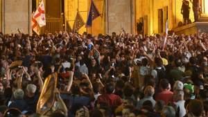 Массовые антироссийские протесты в Грузии: причины и развитие событий