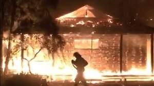Підпал будинку Гонтаревої: що відомо на цей момент – фото і відео