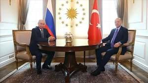 Путін вкотре сконфузився на зустрічі з Ердоганом: курйозні відео