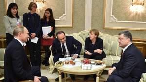 Думав, що посипляться лампи, – Безсмертний розповів, як Порошенко хотів зустрітися з Путіним