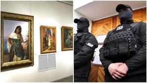 Що сталося з картинами й документами Порошенка після штурму ДБР: пояснення музею