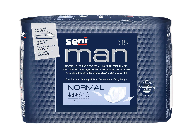 Чоловічі урологічні прокладки від Seni