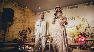 Андре Тан і Катя Осадча представили спільну колекцію: ефектні фото з презентації