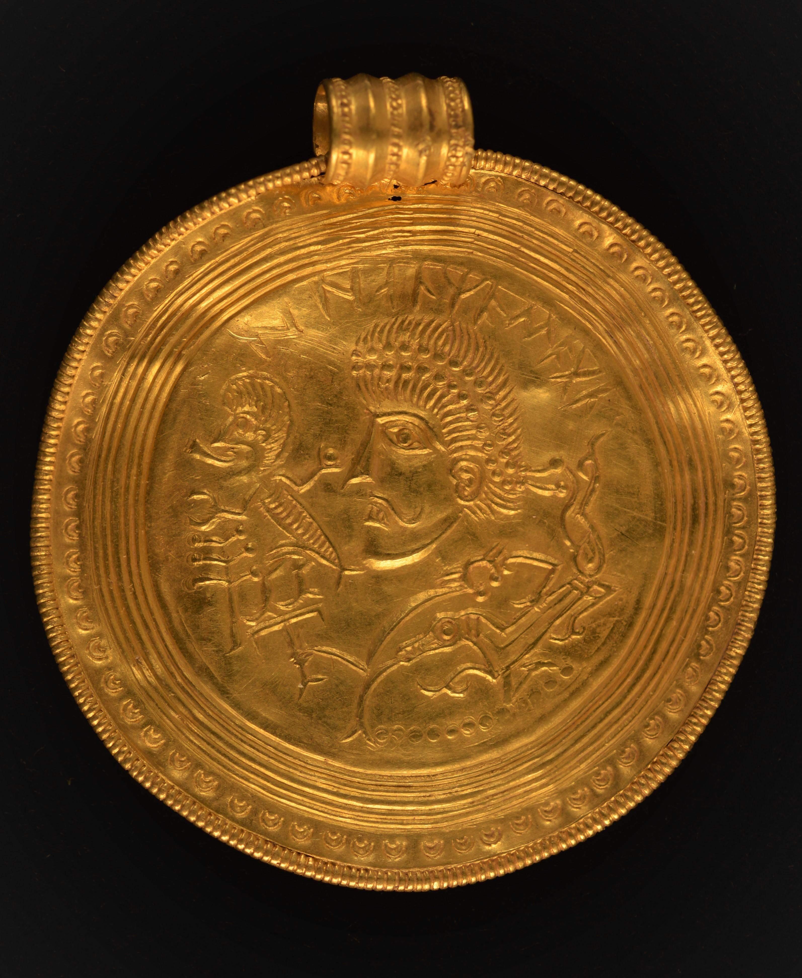 Медальйон вікінгів