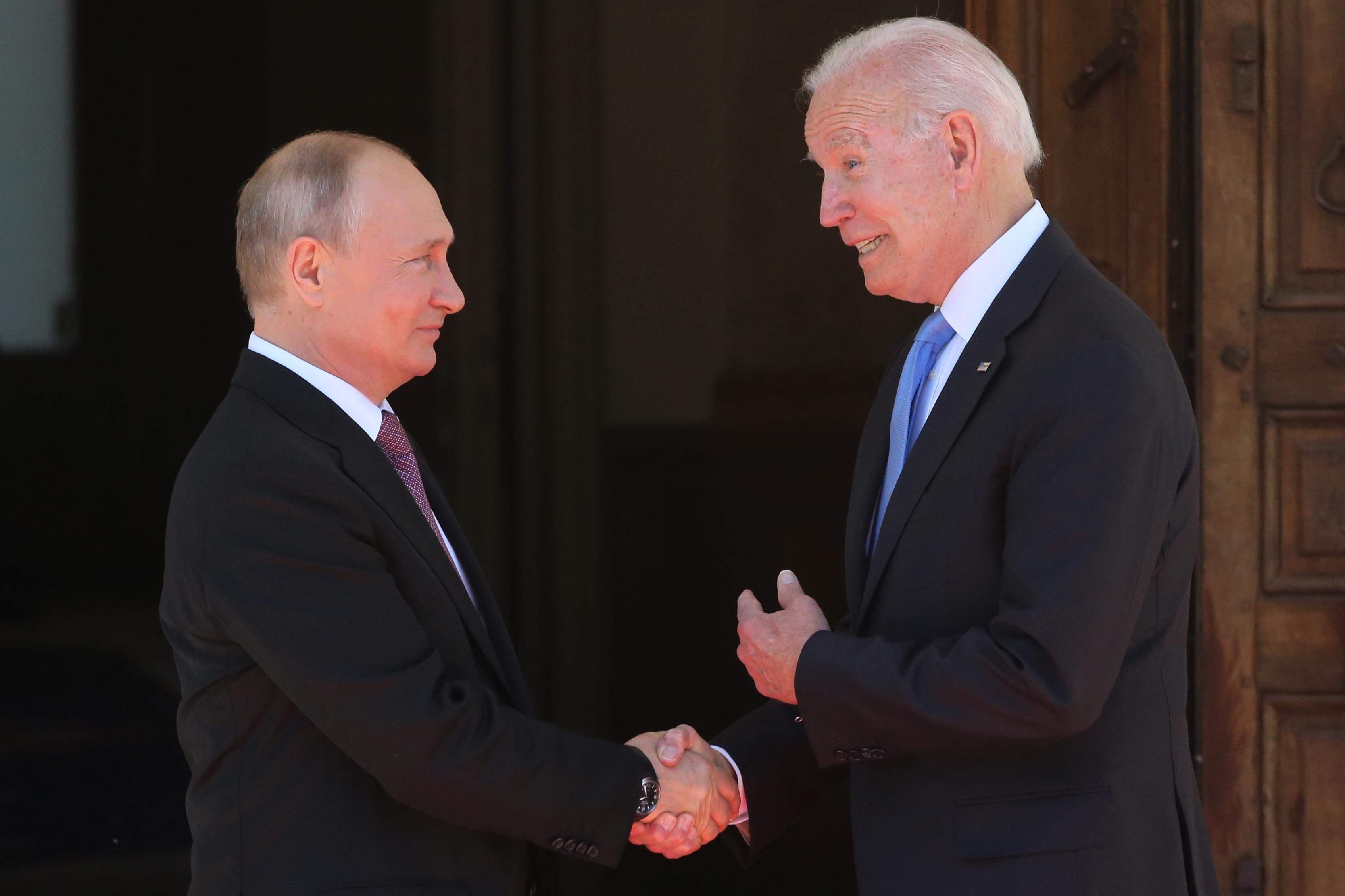 Володимир Путін та Джо Байден