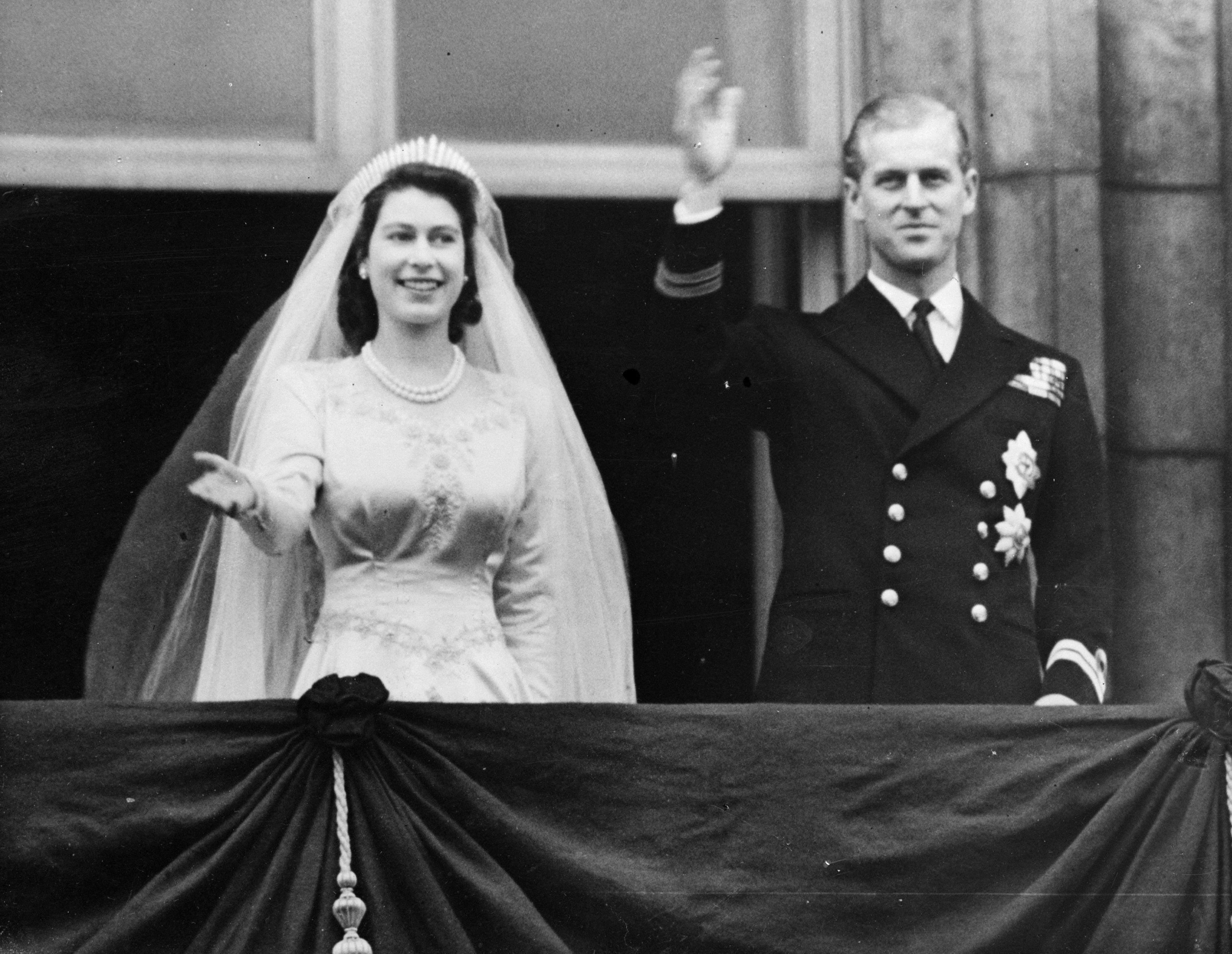 королева принц філіп