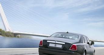 Rolls-Royce представив у Шанхаї подовжений седан Ghost
