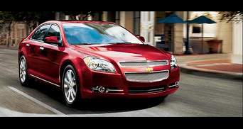 General Motors у Шанхаї представила глобальний седан Chevrolet Malibu