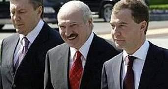 Завтра Янукович, Медведев и Лукашенко поедут в зону