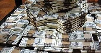 Общий госдолг Украины составляет 449030000000 гривен