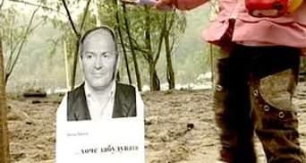 Активісти висадили саджанці на місці вирублених дерев біля Дніпра
