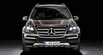 Mercedes Benz показав найрозкішніший кросовер GL-Class Grand Edition