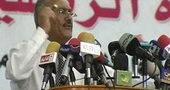 Глава Ємену отримав опіки 40% поверхні тіла