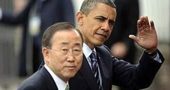 Обама поддержал кандидатуру Пан Ги Муна