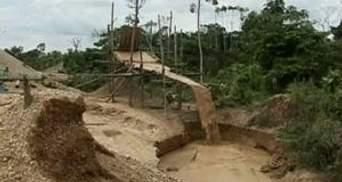 В Перу добыча золота уничтожает природу