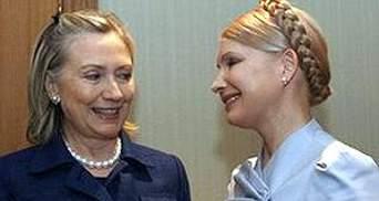 Клинтон вступилась за Тимошенко