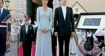 Князь Монако и Шарлен Уиттсток поженились