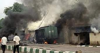 В Нигерии взорвался бар возле полицейских бараков