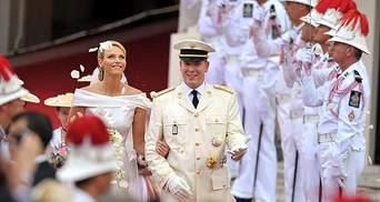 Княжая свадьба в Монако