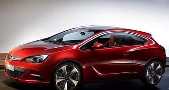 В інтернеті з'явились фото трьохдверної Opel Astra