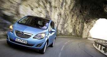 Opel представила фотографії компактвена Meriva