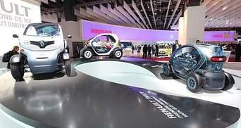 На моторшоу в Парижі Renault представили три нових концепти
