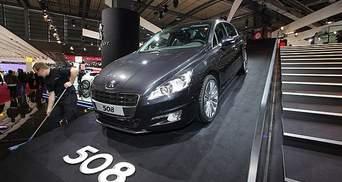 В Парижі показали новий Peugeot 508