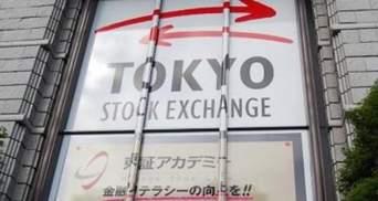Японский индекс Nikkei закрылся в минусе на 2,2%