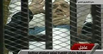 Суд над Хосни Мубараком отложили до 5 сентября