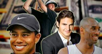 ТОП-п'ять найбагатших спортсменів