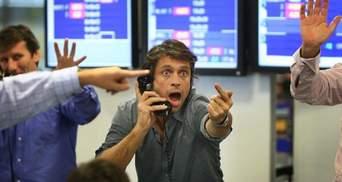 """Мировые биржи пережили """"черный четверг"""""""
