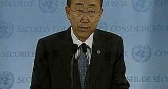 Пан Ги Мун: Это посягательство на жизнь тех, кто посвящает себя помощи другим