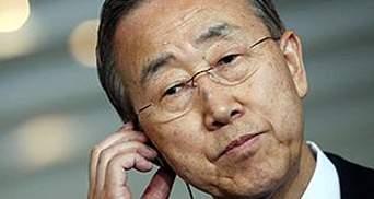 Пан Ги Мун надеется на скорейшее восстановление стабильности в Ливии