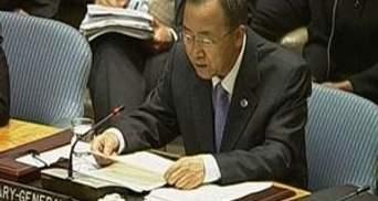 Пан Ги Мун: Первые 110 миллионов Каддафи уже разморожены