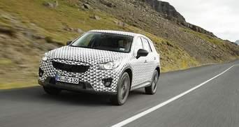 Mazda розсекретила новий компактний кросовер CX-5