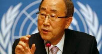 Пан Ги Мун: В Ливию надо как можно скорее направить миссию ООН