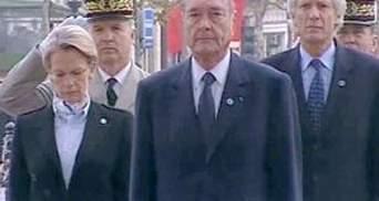 Суд визнав часткову недієздатність Жака Ширака