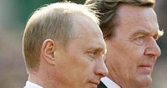 """Путін за пивом подякував Шредеру за """"Nord Stream"""""""