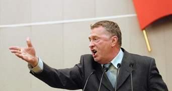 """Жириновский назвал Януковича """"грубым"""" и """"скупым"""""""