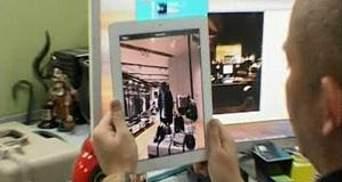 Новий додаток дозволяє купувати одяг за допомогою планшетки