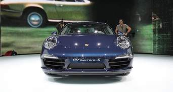 Во Франкфурте показали новый Porsche 911 Carrera