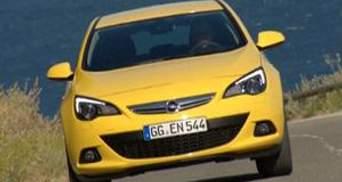 Opel повернув тридверну Astra GTC