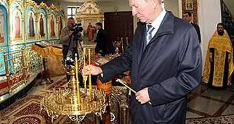З церкви, яку побудував Кучма, вкрали старовинні ікони